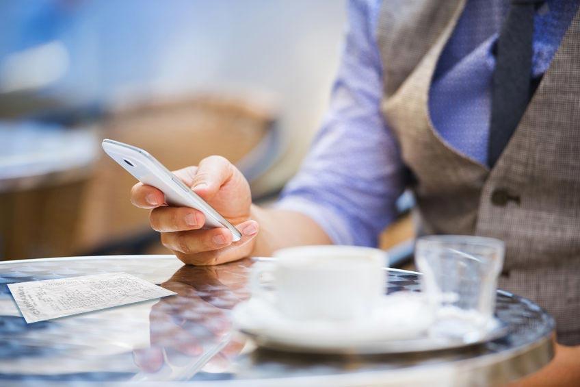 Skanna kvitto med mobilapp. Skanna kvitton och bokför digitalt.